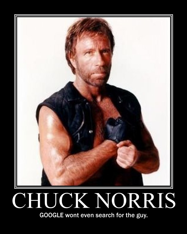 Chuck Norris doesn't...