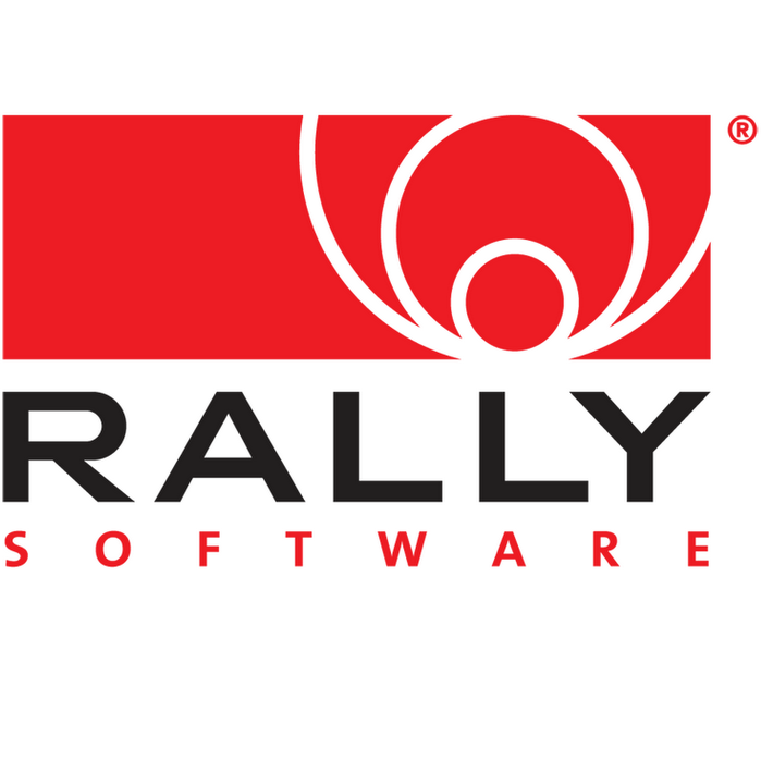 Rally Software Logo Rally Software Social