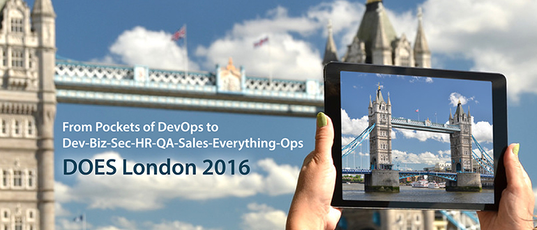 From Pockets of DevOps to Dev-Biz-Sec-HR-QA-Sales-Everything-Ops, DOES London 2016