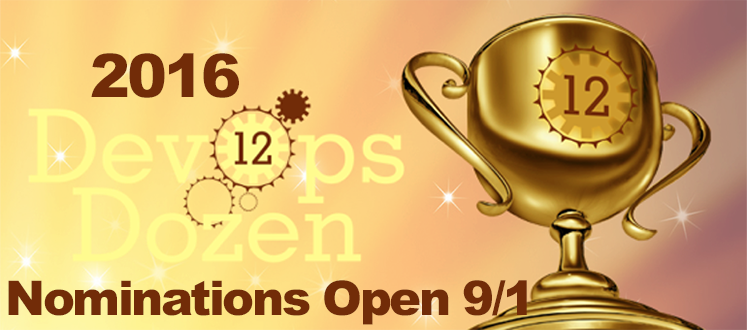 DevOps Dozen 2016 Coming Sept. 1