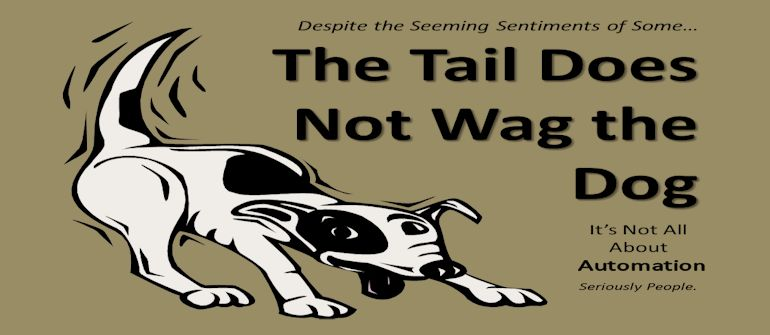 Wagging The Dog Wagging His Tail Stock Photo Image