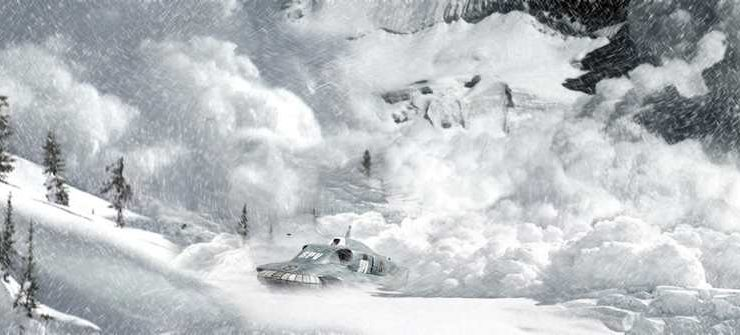 The web-scale avalanche