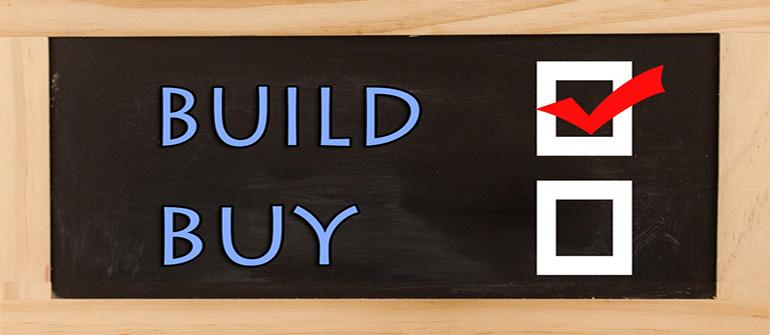 What's the cost of build versus buy DevOps?