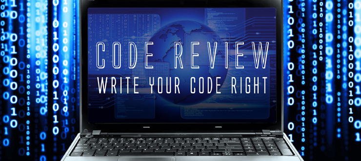 Code Review - Write your code right