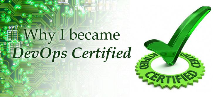 Why I became DevOps Certified