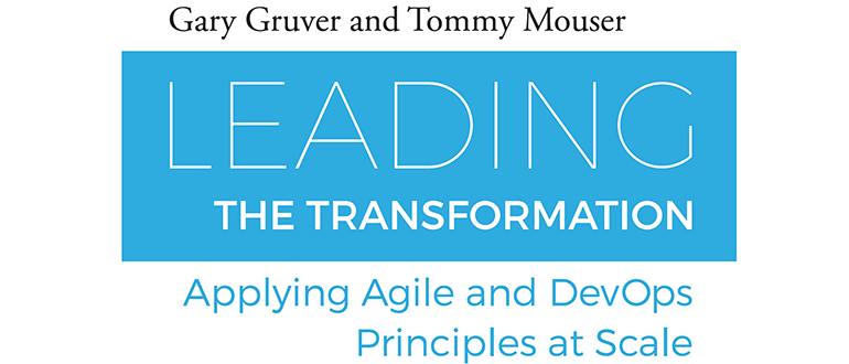 New DevOps Book: Leading the Transformation