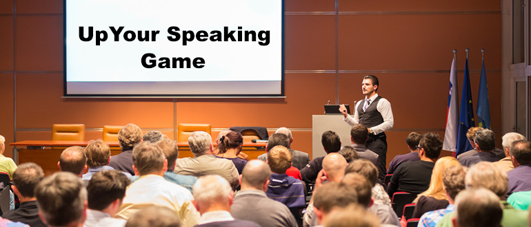 'Tis the season to up your speaking game