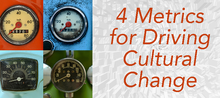 Four Metrics for Driving Cultural Change in DevOps Teams