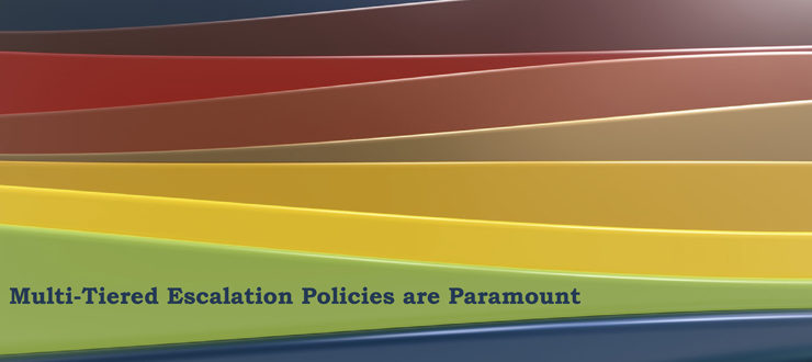 Multi-Tiered Escalation Policies are Paramount