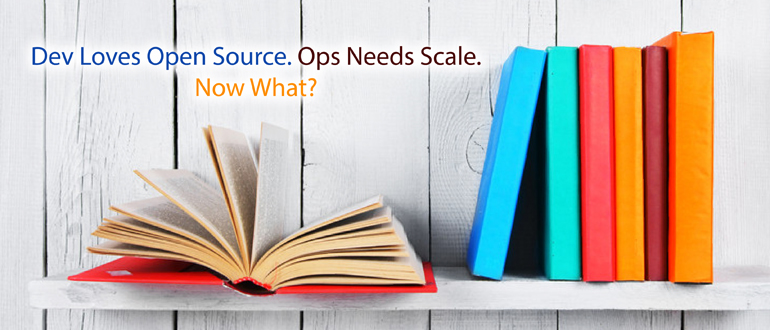 Dev loves Open Source. Ops needs Scale. Now What?