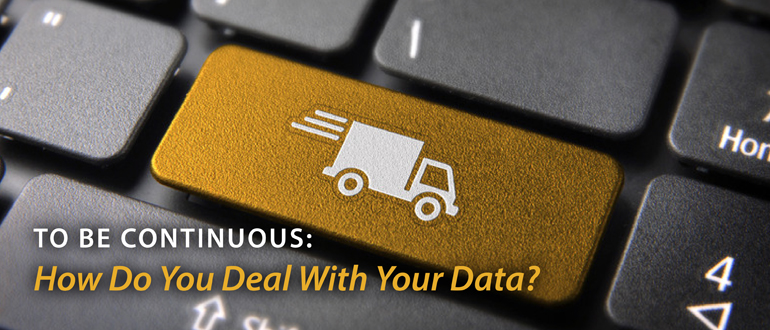 To Be Continuous Podcast: How Do You Deal with Your Data?