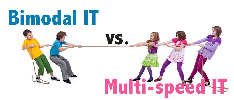 Multi-Speed IT versus Bimodal IT