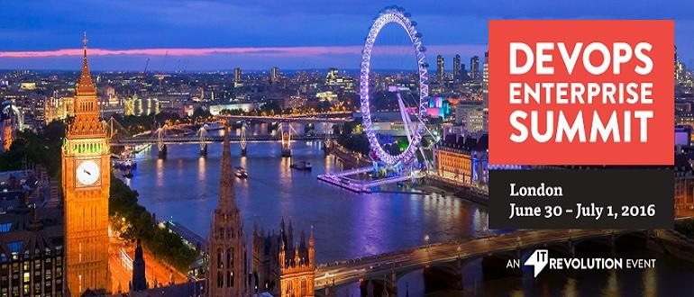 DevOps Enterprise Summit is coming to London!