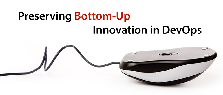 Preserving Bottom-Up Innovation in DevOps