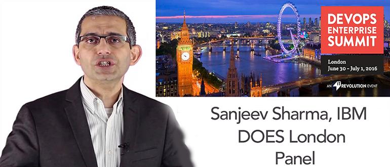 DevOps Chat: Sanjeev Sharma, DevOps Enterprise Summit London 2016