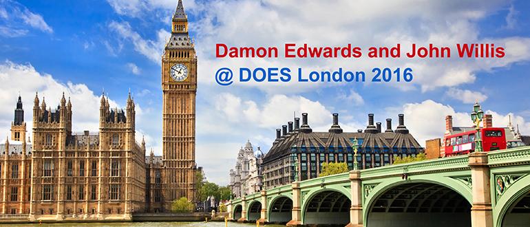 Damon Edwards and John Willis @ DOES London 2016