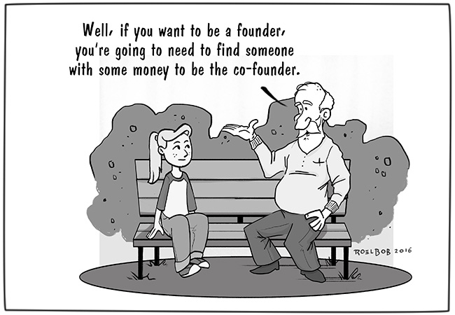 How to be a Founder