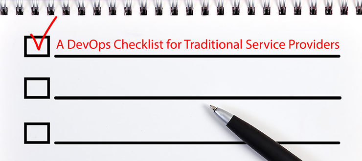 A DevOps Checklist for Traditional Service Providers