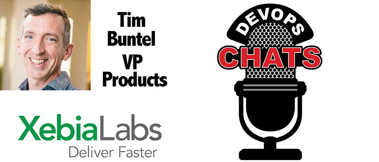 DevOps Chat: DevOps & CD with Tim Butel, XebiaLabs