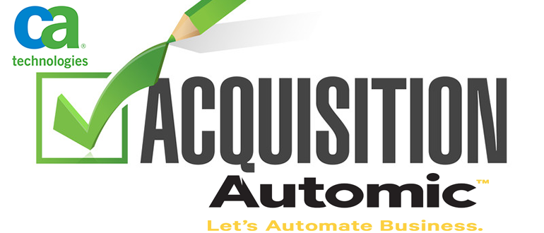 CA Technologies Announces Intent To Acquire Automic