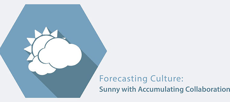 Forecasting Culture: Sunny with Accumulating Collaboration