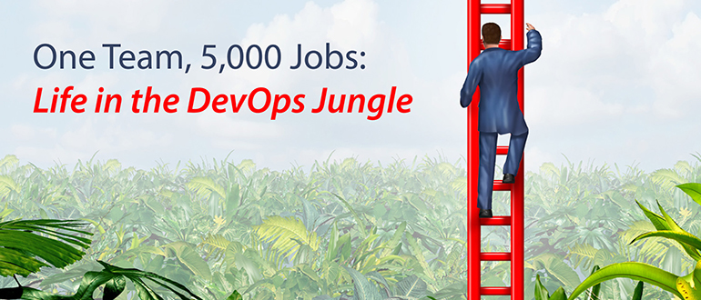 One Team, 5,000 Jobs: Life in the DevOps Jungle