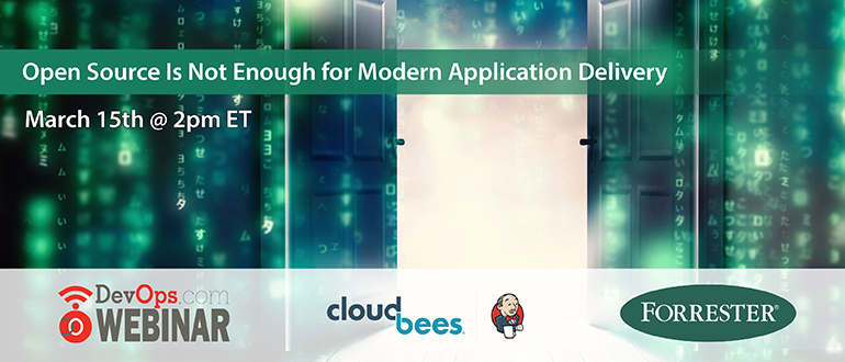 Open Source is Not Enough for Modern Application Delivery