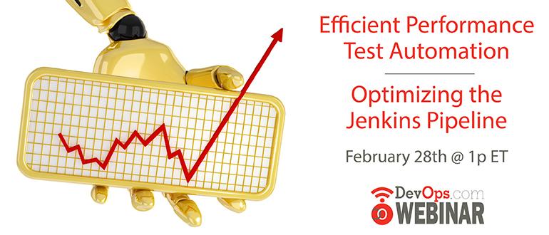 Webinar:  Efficient Performance Test Automation – Optimizing the Jenkins Pipeline