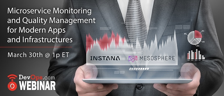 Webinar: Microservice Monitoring and Quality Management for Modern Apps and Infrastructures