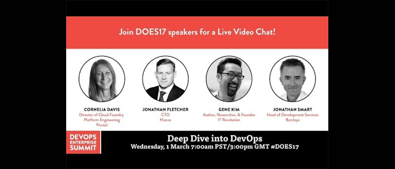 """A """"Deep Dive Into DevOps"""" with DOES17"""