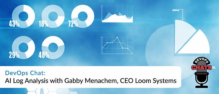 DevOps Chat: AI Log Analysis with Gabby Menachem, CEO, Loom Systems
