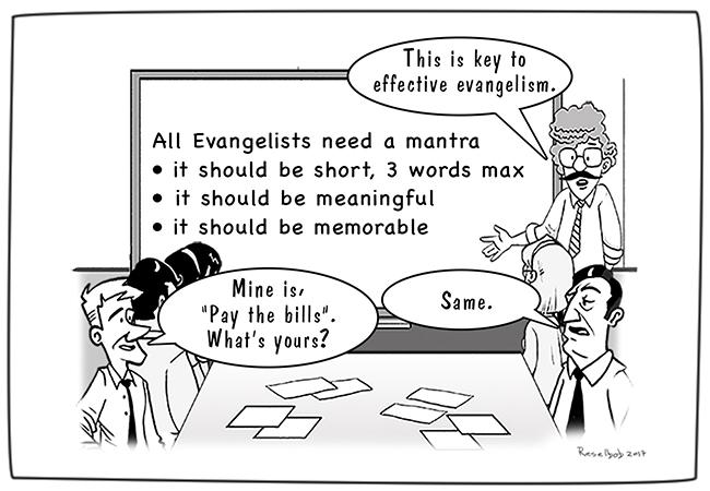 evangelists-mantra