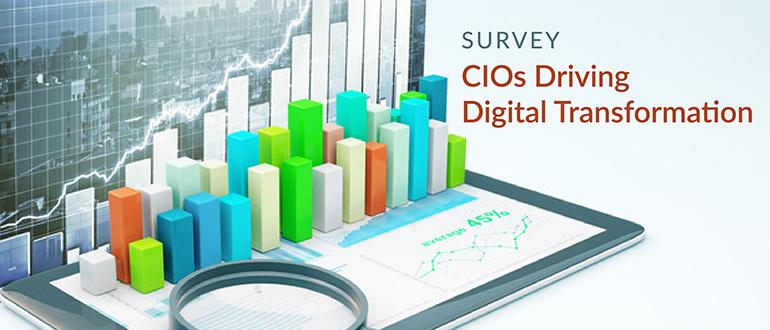 Survey: CIOs Driving Digital Transformation