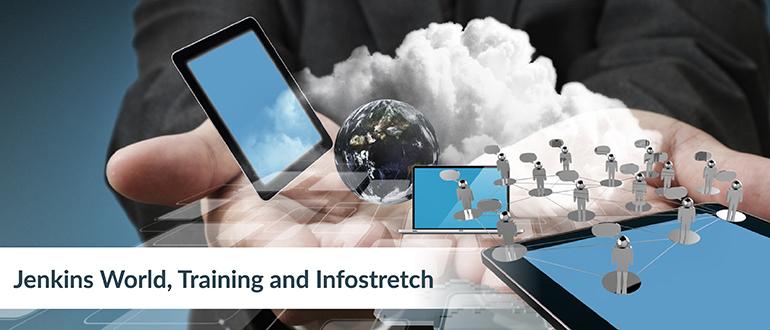 Jenkins World, Training and Infostretch