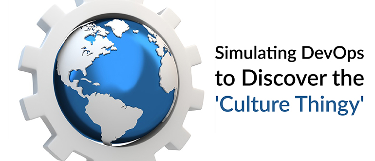 Simulating DevOps to Discover the 'Culture Thingy'