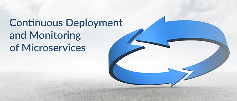 Continuous Deployment and Monitoring of Microservices