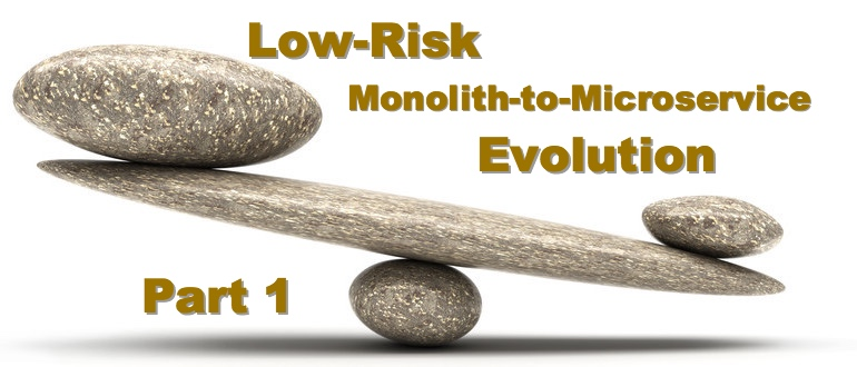 Low-Risk Monolith-to-Microservice Evolution, Part 1