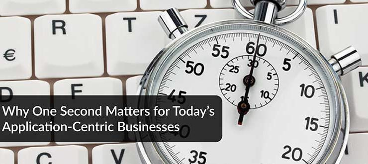 Why One Second Matters for Today's Application-Centric Businesses