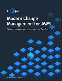 Modern Change Management for AWS