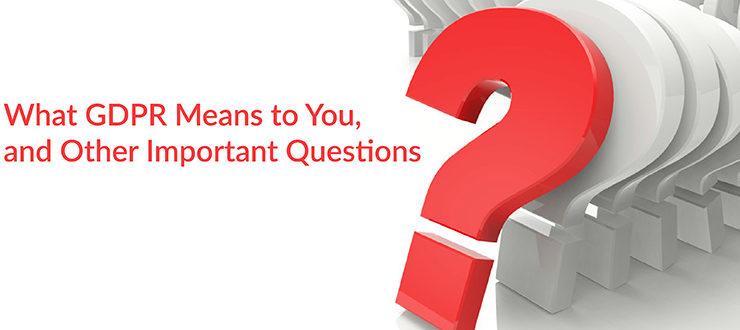 GDPR Important Questions