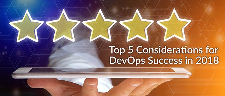 Top 5 DevOps Success