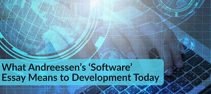 Andreessen's 'Software' Essay Means