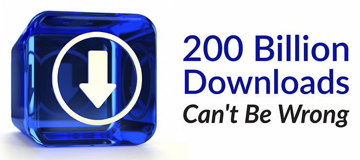 200 Billion Downloads