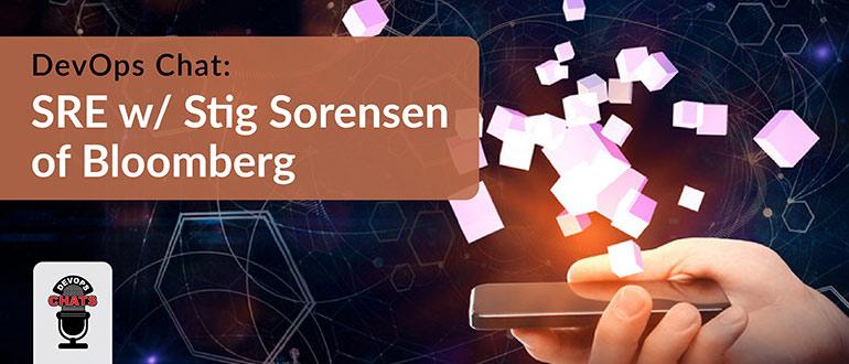 Stig Sorensen of Bloomberg