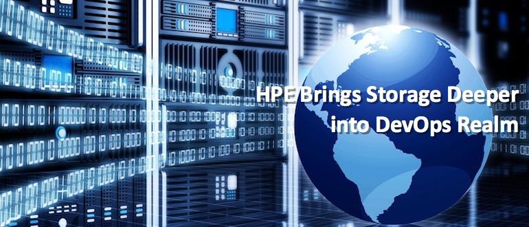 HPE Brings Storage Deeper into DevOps Realm
