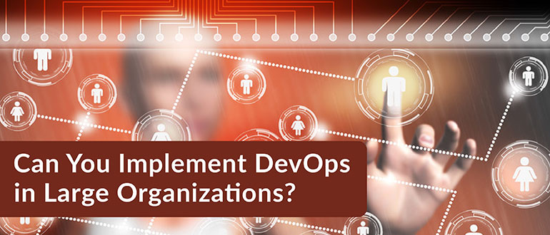 Implement DevOps in Large Organizations