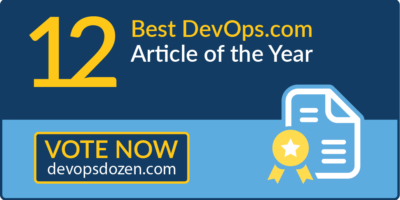 Best DevOps.com Article of the Year
