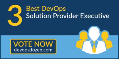 Best DevOps Solution Provider Executive