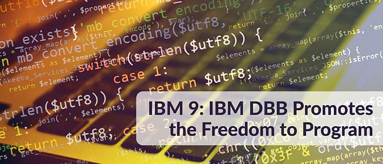 IBM 9: IBM DBB Promotes Programming