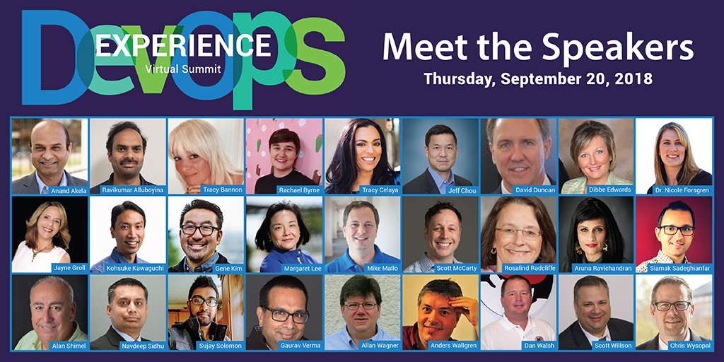 DevOps Experience: Agenda and Speakers Announced